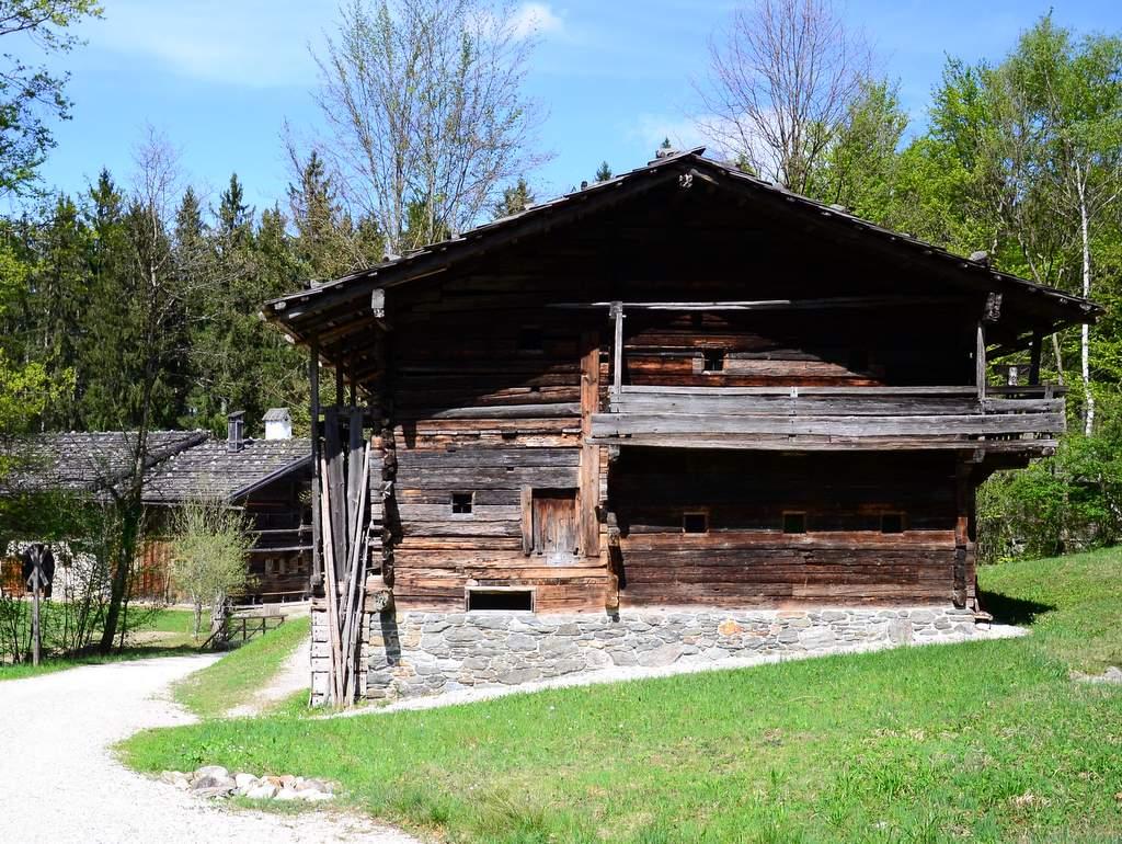 Freilichtmuseum  Bauernhaus