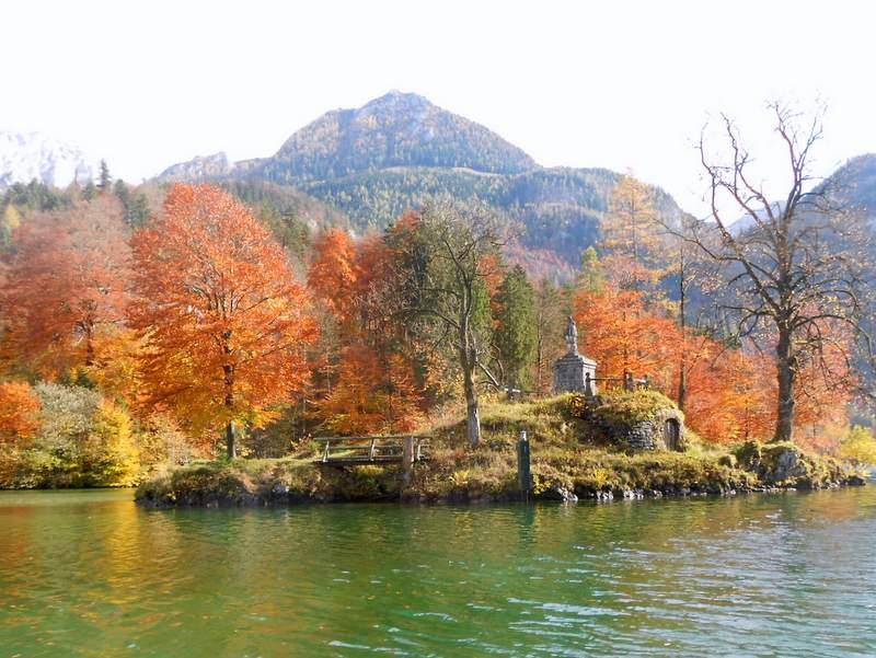 Königsee im Herbst