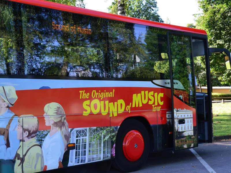 Sound of Music Tourbus