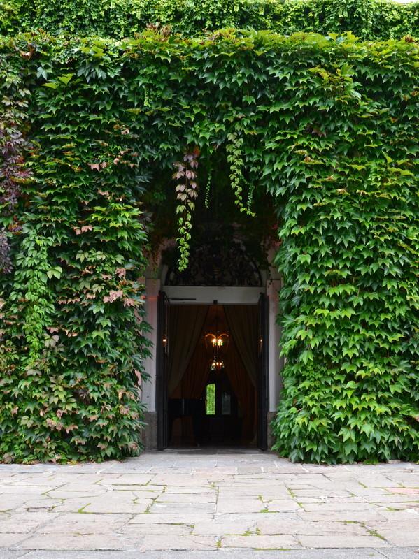 Eingang Schloss Leopoldskron