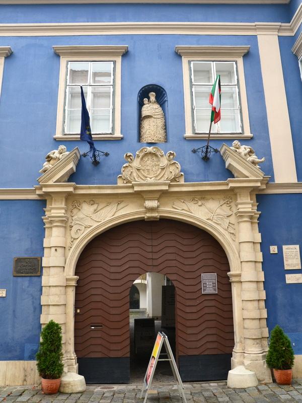 Blaues Haus sopron
