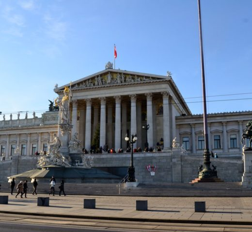 Spaziergang durch die Wiener Innenstadt