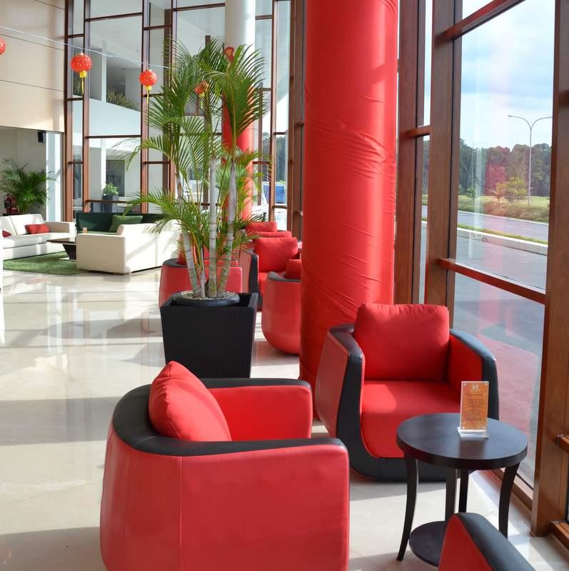 Bintan Hotel Lobby