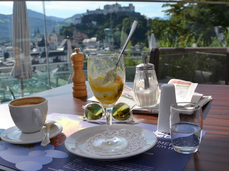 Frühstück im M32 am Mönchsberg