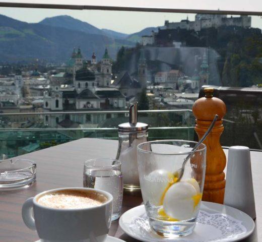 Meine Salzburger Frühstückskaffeehäuser; das M32 am Mönchsberg