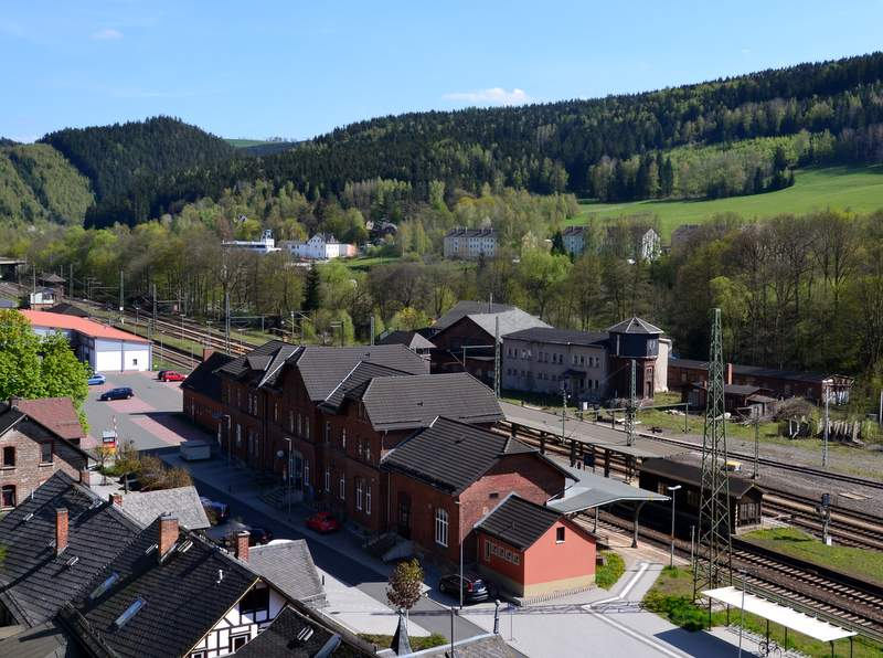 Bahnhof in Probstzella, Grenzbahnhofs-Museum