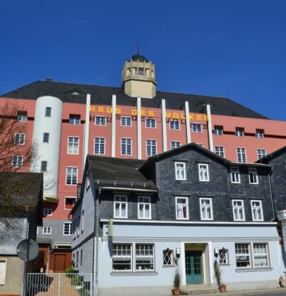 Probstzella; kontrastreiches Süd-Thüringen