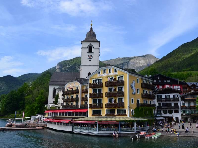 Hotel und FilmkulisseWeisses Rössl am Wolfgangsee