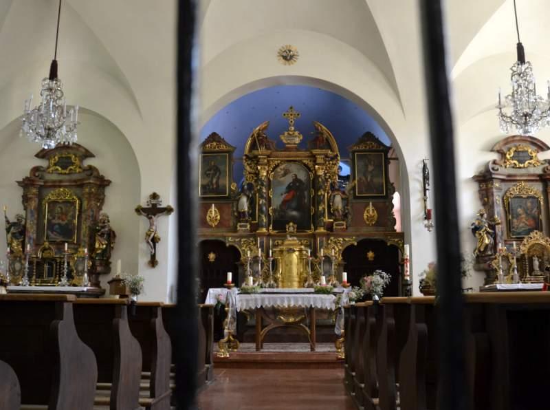 Kirche in Sankt Jakob am Thurn