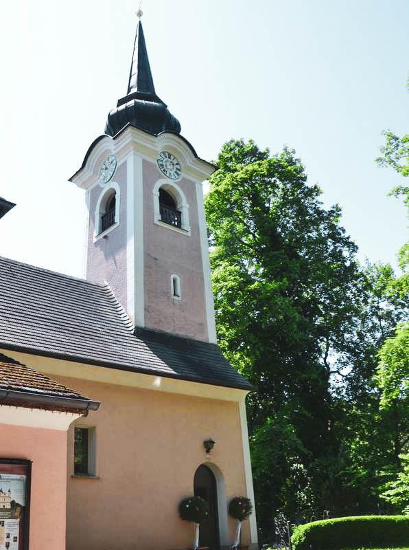 Kirche in Sankt Jakob