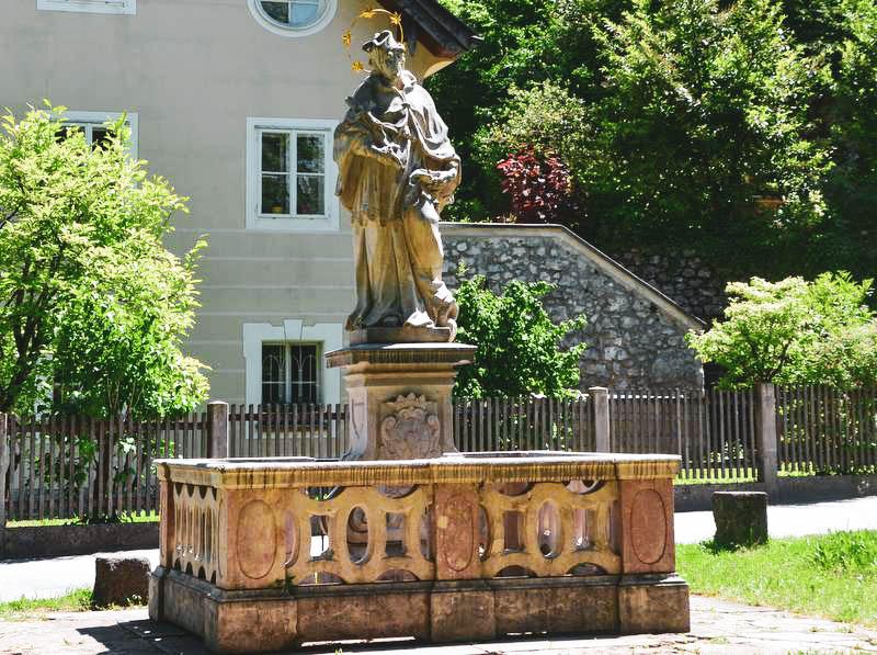 Brunnen in Sankt Jakob