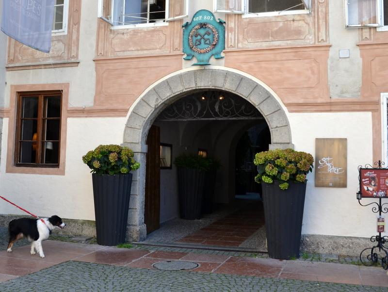 Eingang Stiftskeller St.Peter