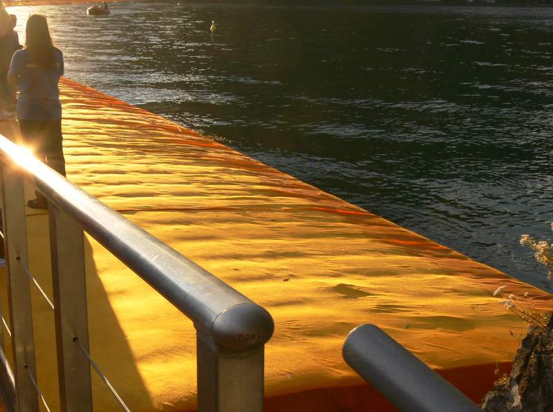 Iseo See Floating Piers