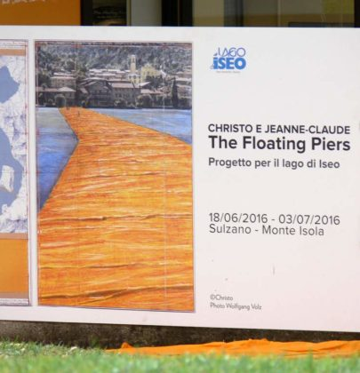Meine Mama wandelte übers Wasser; The Floating Piers am Iseosee