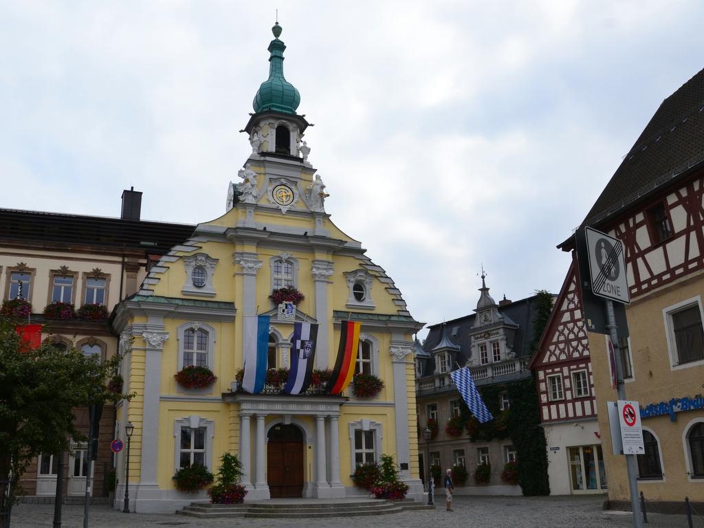 Rathaus in Kulmbach in Franken