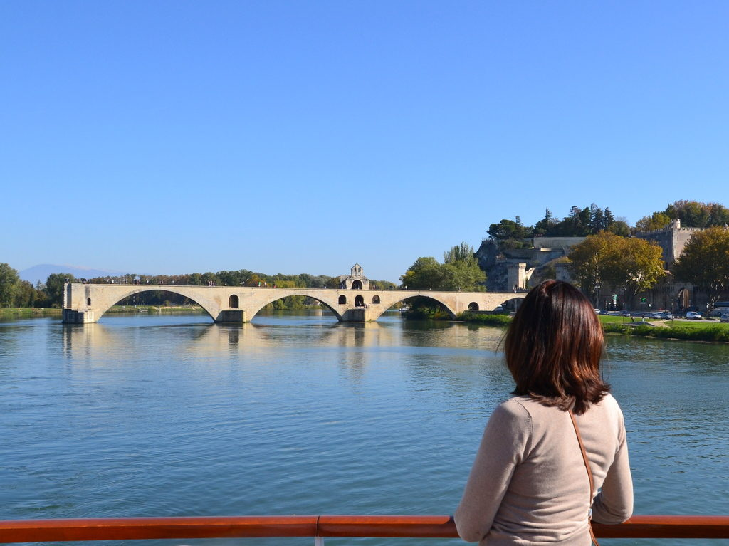 Brücke in Avignon