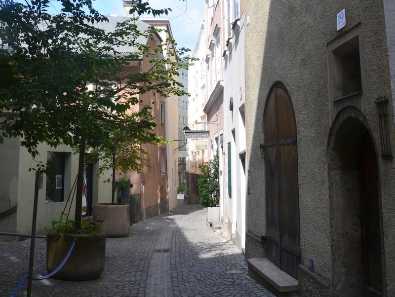 Steingasse in Salzburg