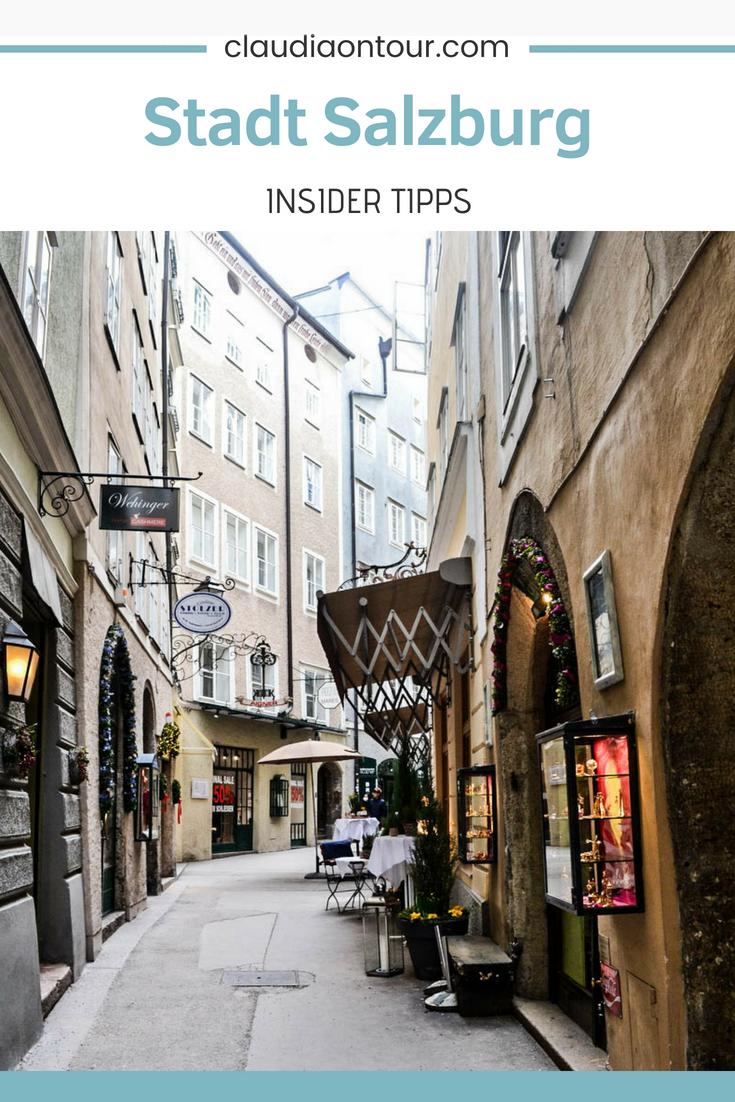 Insider Tipps für die Stadt Salzburg