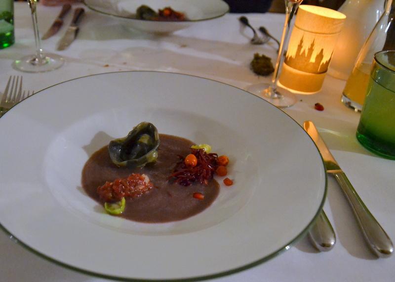 Reh Rotkraut Granatapfel
