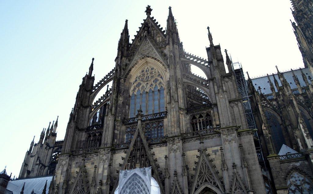 Das Kölner Wahrzeichen der Dom