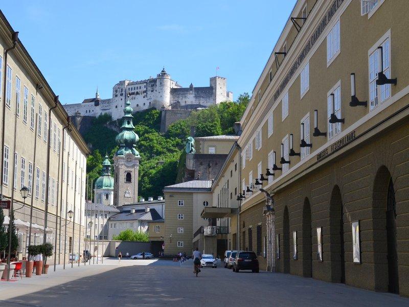 Festspielbezirk in Salzburg