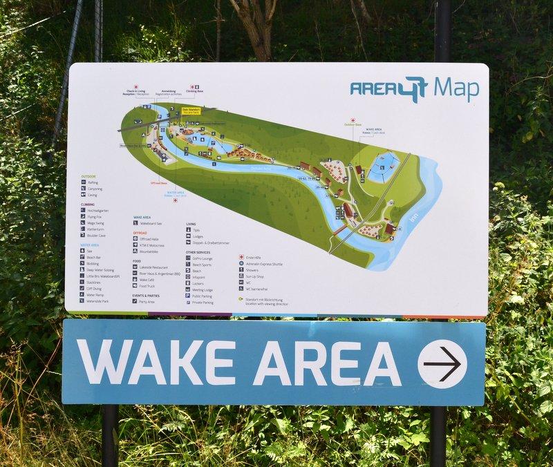 Lageplan der AREA 47 im Ötztal