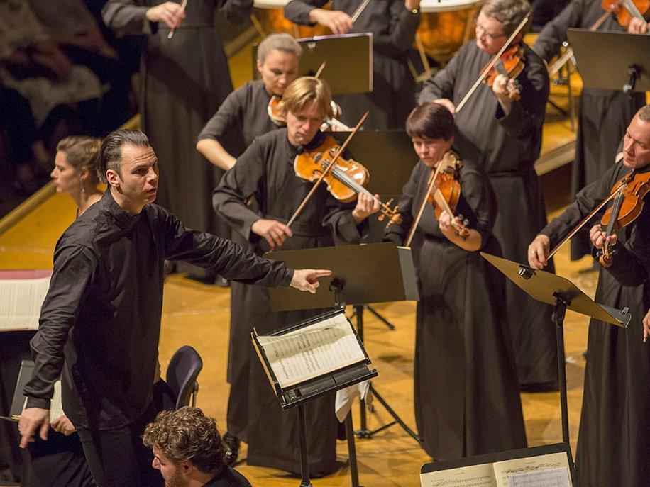 Sommerkonzerte Ingoldstadt Salzburger Festsoiel Gastspiel mit Teodor Currentzis