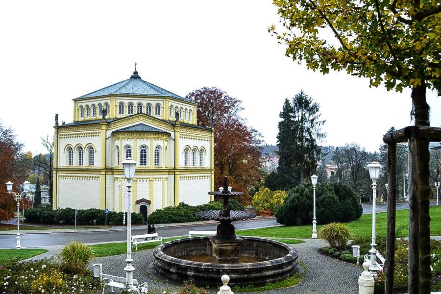 Marienkirche im Kurpark Marienbad