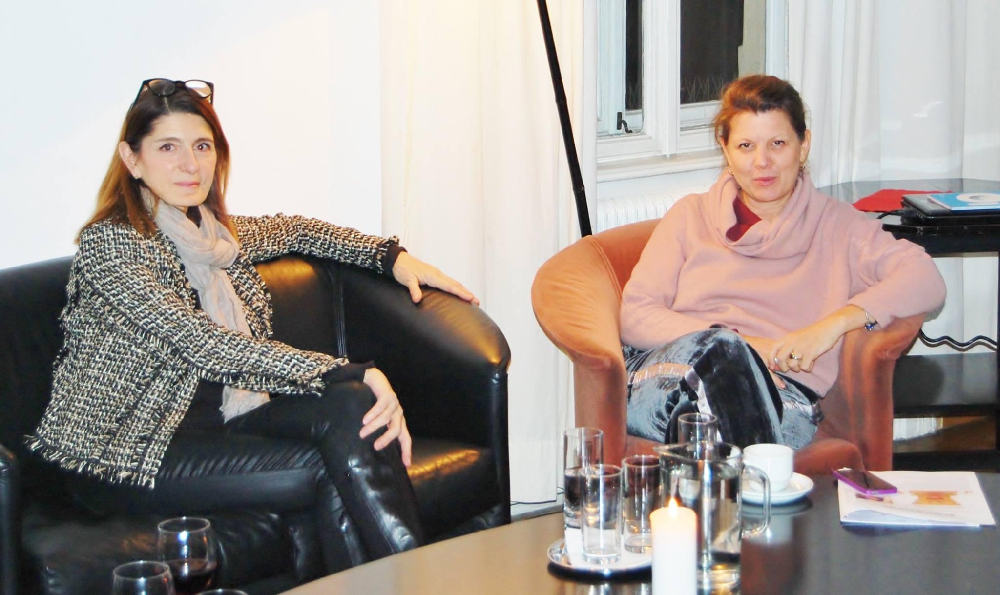 Salongespräch Claudia Braunstein Irene Kernthaler Moser