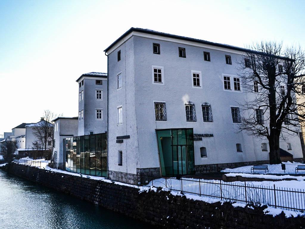 Keltenmuseum Hallein Außenansicht