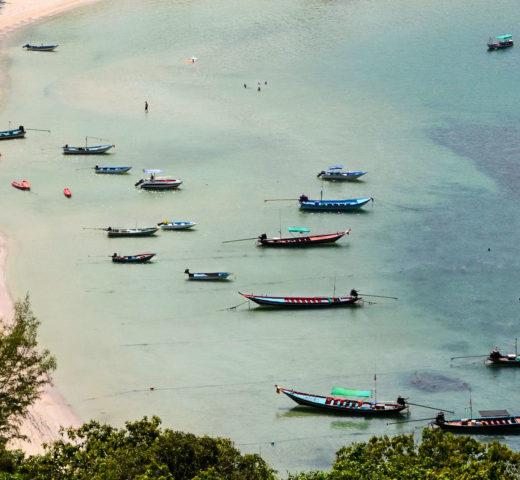 Wie ich mit dem unprofessionellsten Satz in meiner Bloggerkarriere nach Koh Phangan kam