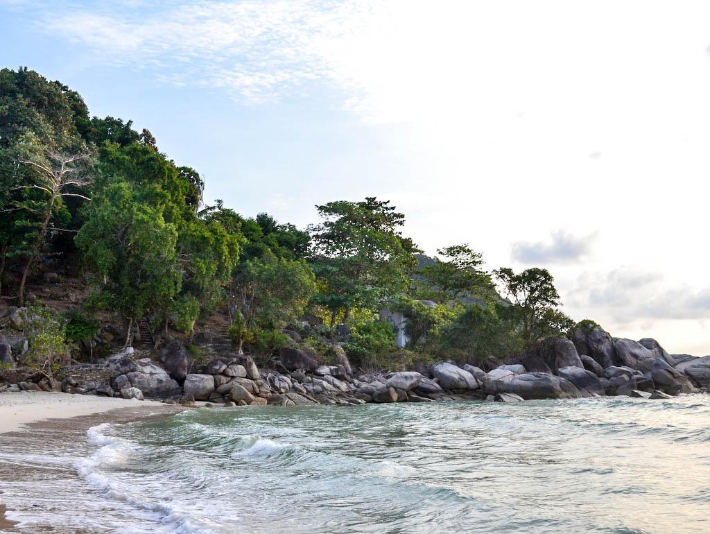 Bucht auf Koh Phangan