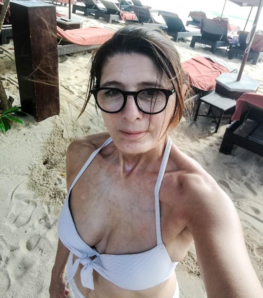 Am Strand im Buri Rasa