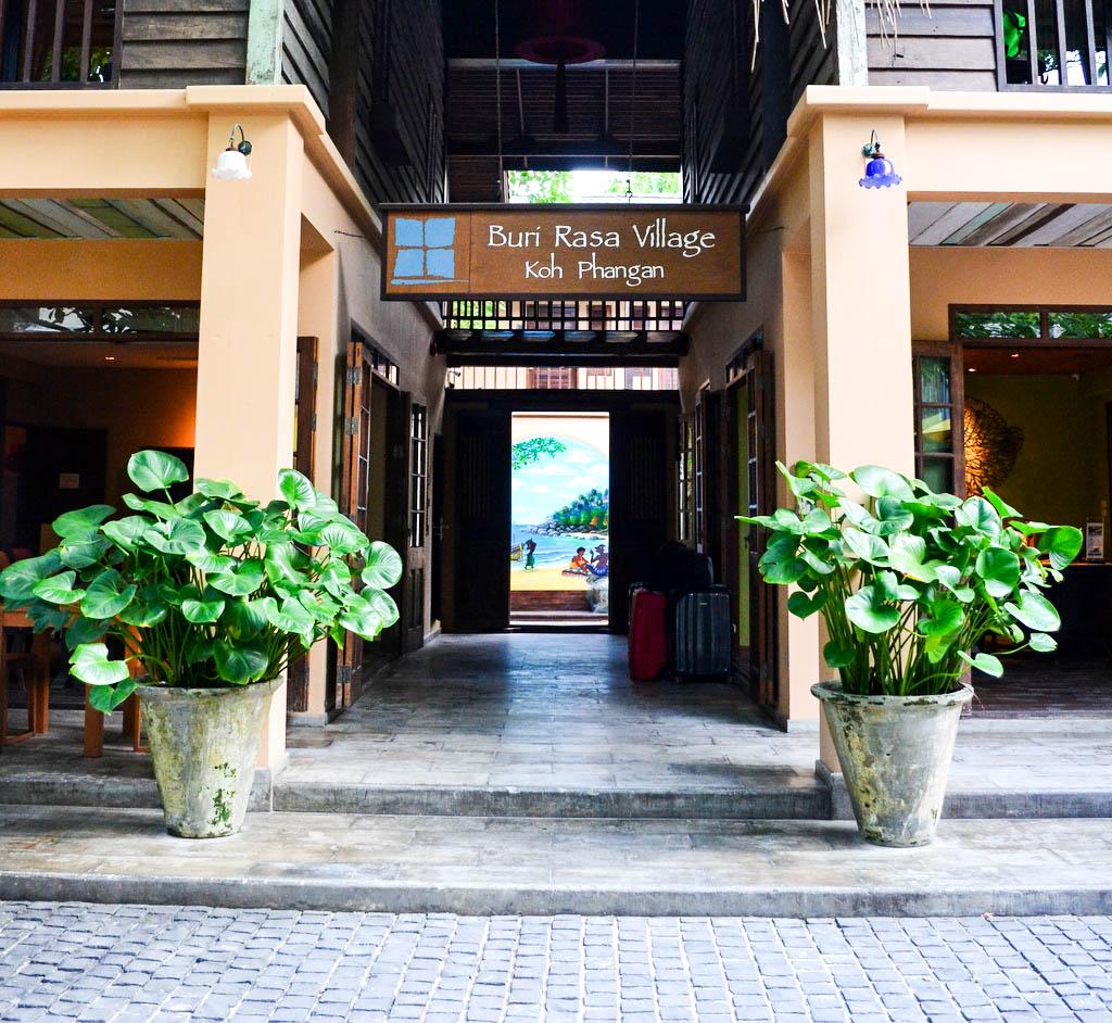 Eingang Buri Rasa Phangan