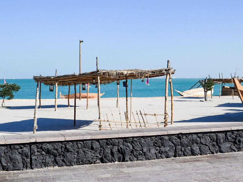 Strand in Doha