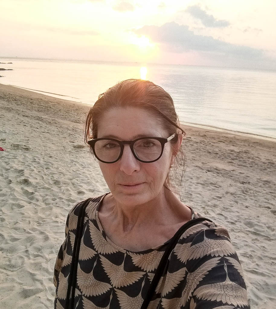 Claudia Braunstein in Koh Phangan