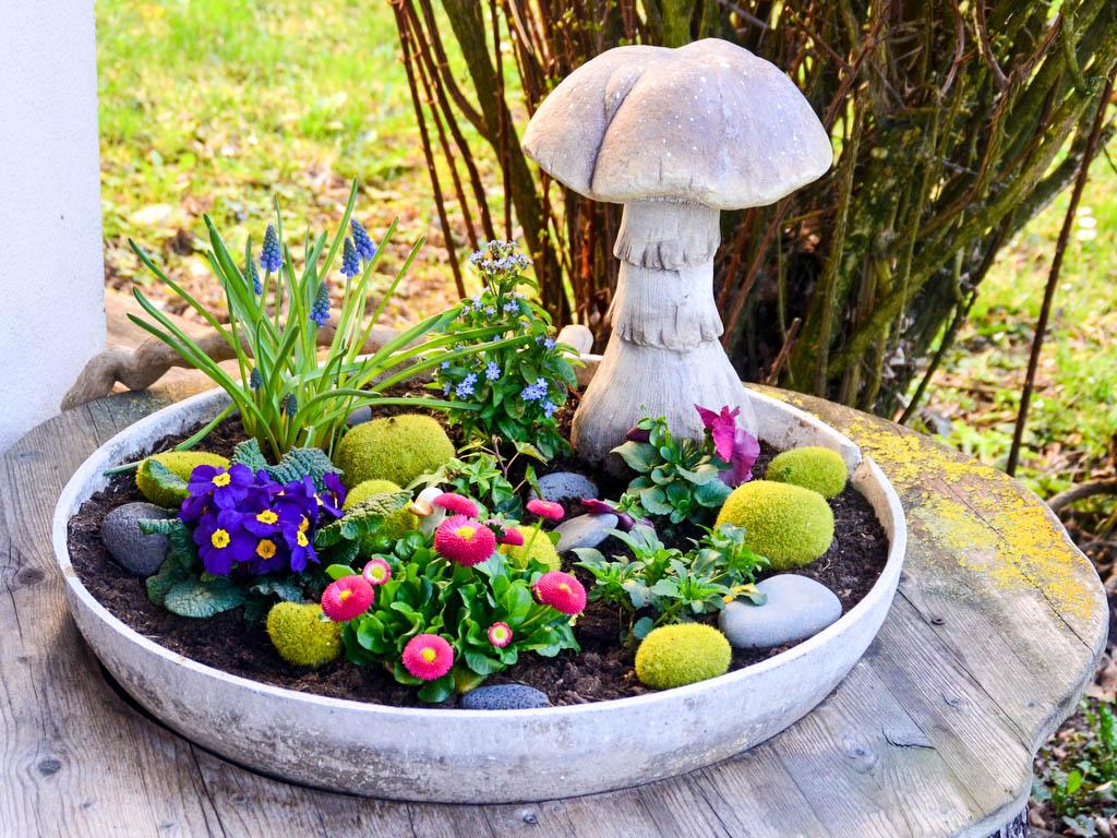 Blumentasse Beutyfarm Landhaus Servus