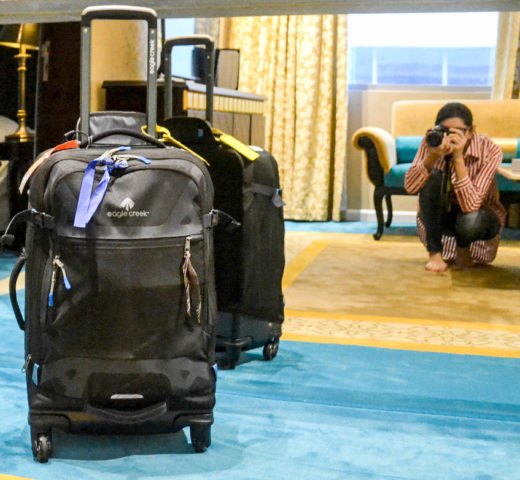 Unterwegs: mein neues Kofferset