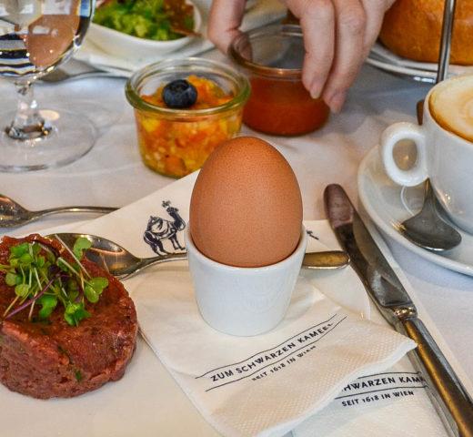 Frühstück in Wien; Zum Schwarzen Kameel im ersten Bezirk