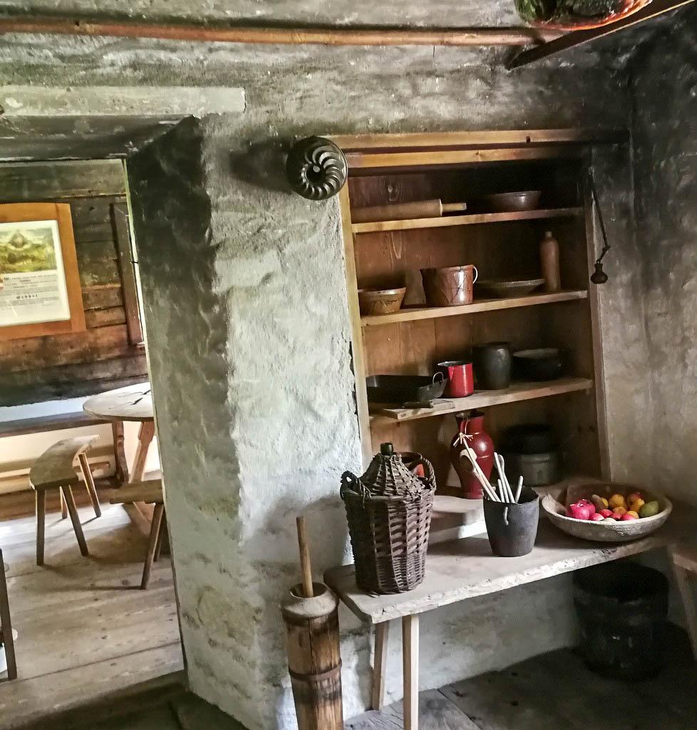 Küche in einem alten Bauernhaus
