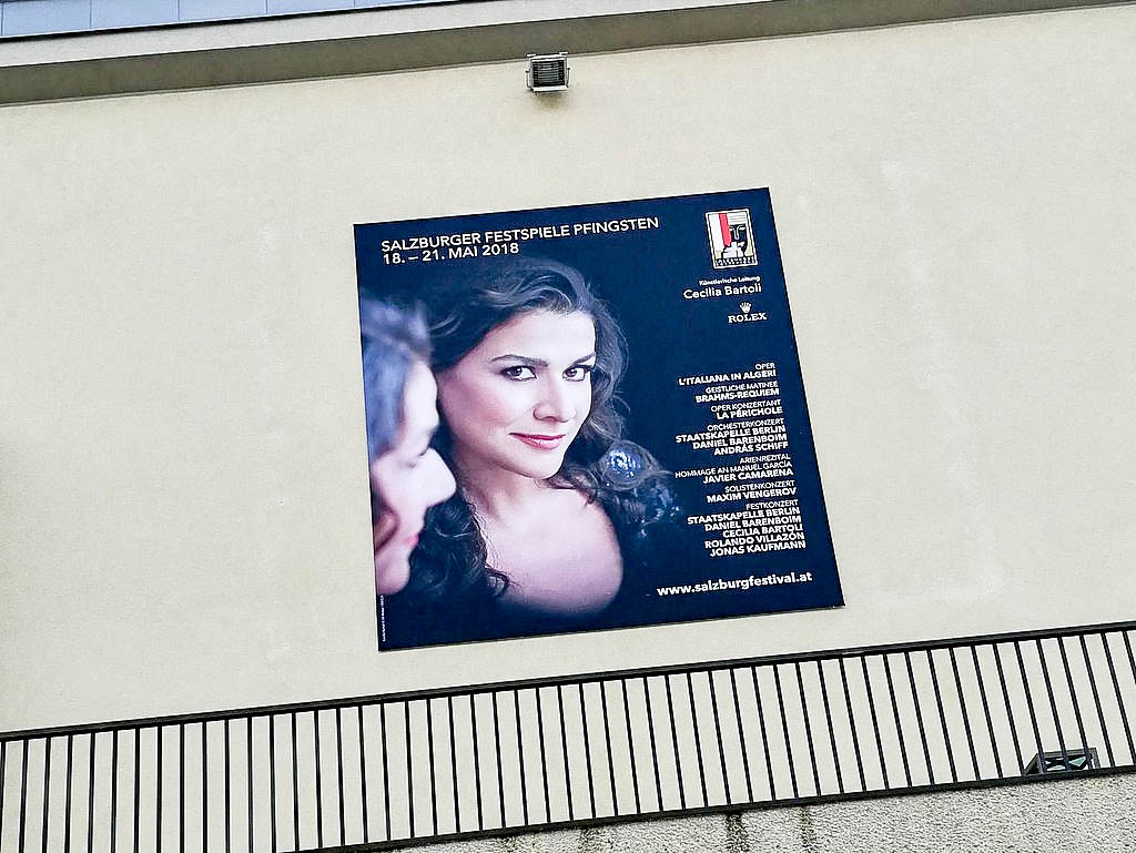 Plakat Cecilia Bartoli Pfingstfestspiele