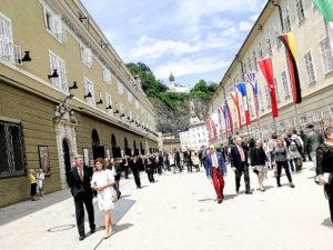 Festspielhaus Salzburg in der Pause