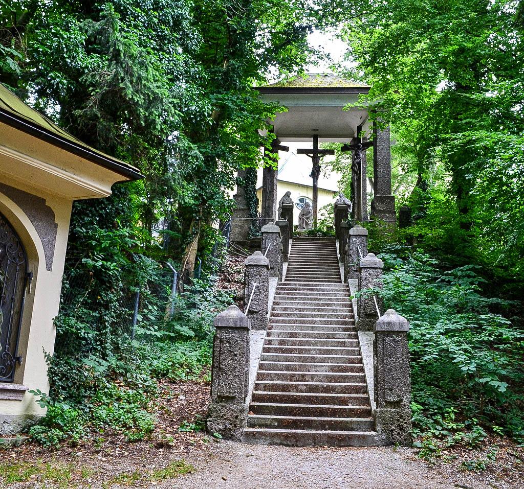 Treppe zum Kapuzinerkloster