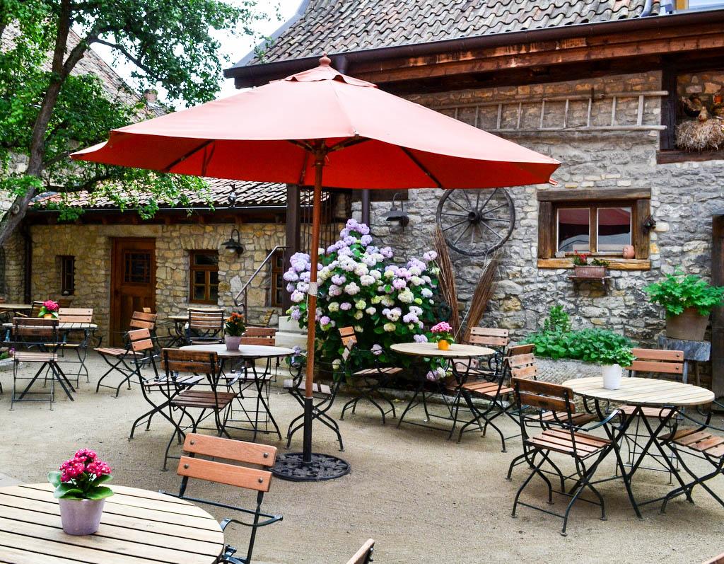 Gastgarten Gasthof Engel