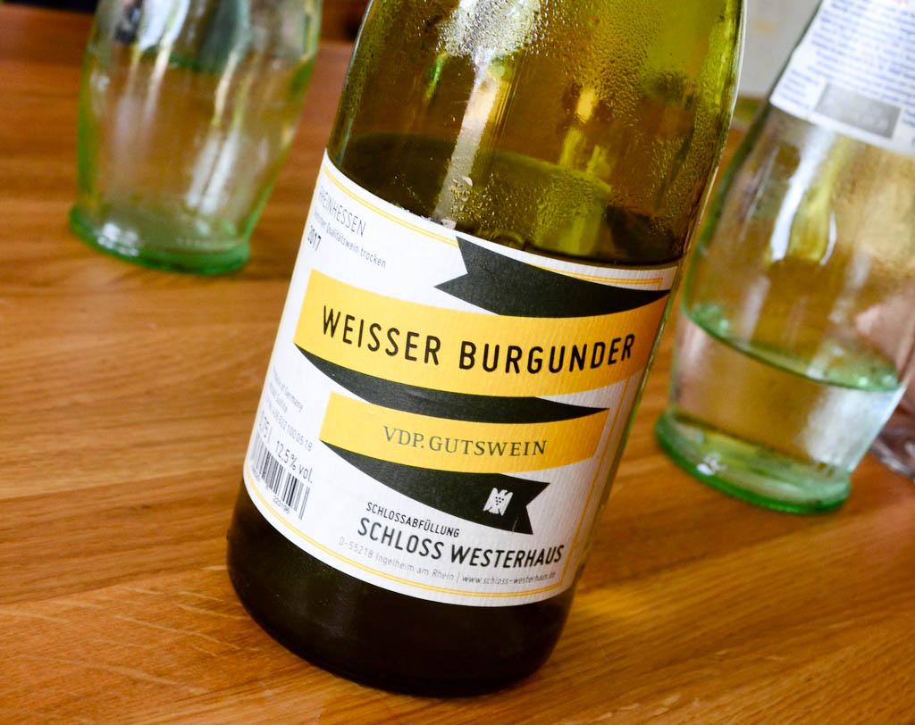 Weisser Burgunder Schloss Westerhaus