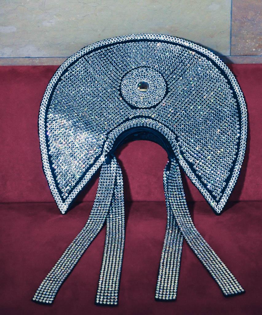 Kopfschmuck mit Swarovski Kristallen