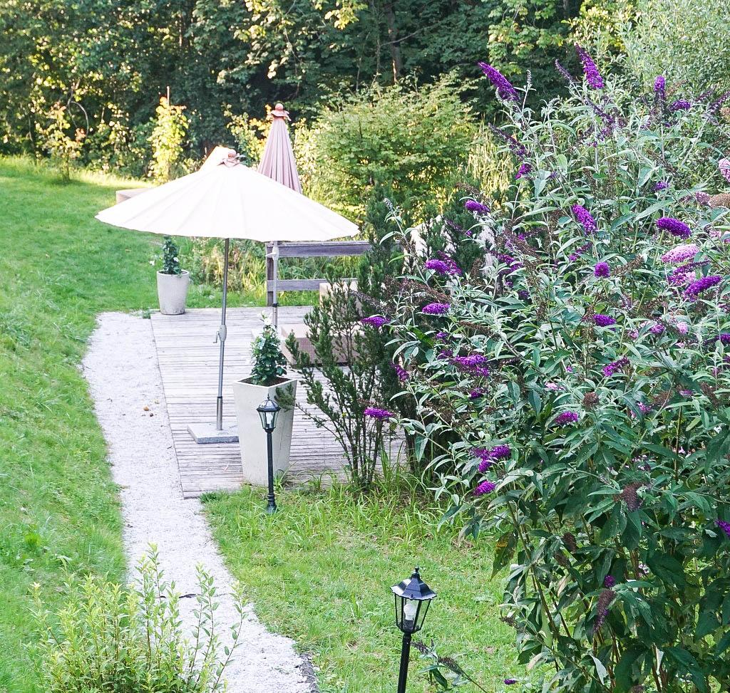 Garten Ruhezone