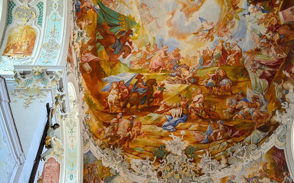 Barockmalereien Wolfegg
