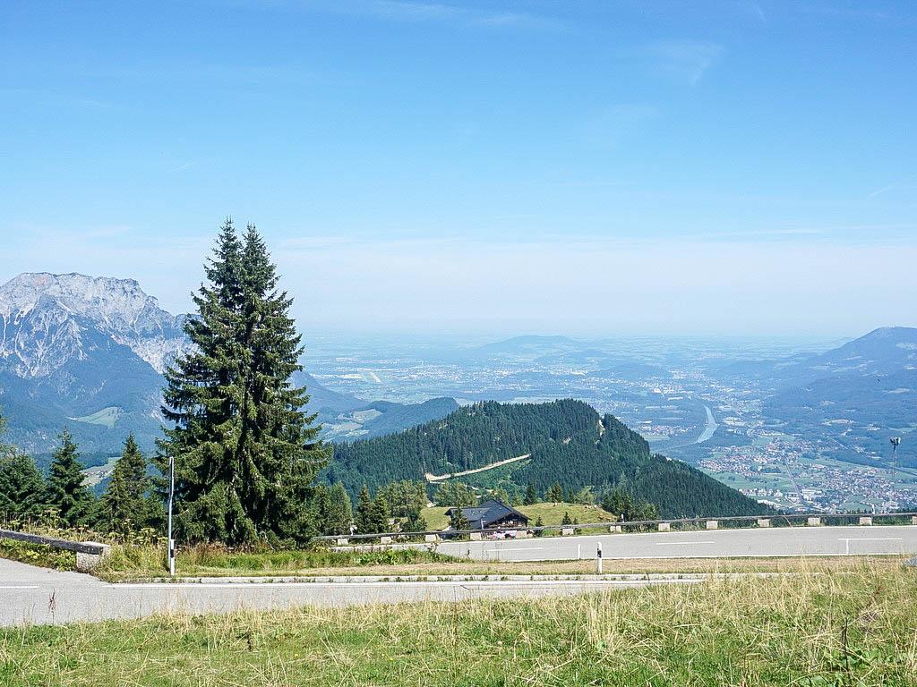 Blick Richtung Flachgau und Salzachtal