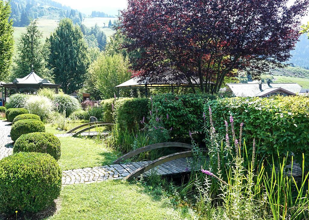 Gartenanlage im Oberforsthof